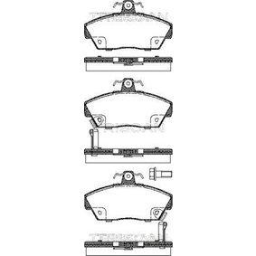 Bremsbelagsatz, Scheibenbremse Breite: 117,5mm, Höhe: 65,5mm, Dicke/Stärke: 18,2mm mit OEM-Nummer GBP90314