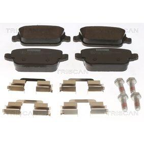 2011 Ford Mondeo Mk4 Facelift 2.2 TDCi Brake Pad Set, disc brake 8110 17024