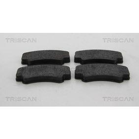 Bremsbelagsatz, Scheibenbremse Breite: 140mm, Höhe: 88,5mm, Dicke/Stärke: 17mm mit OEM-Nummer 996 351 949 12