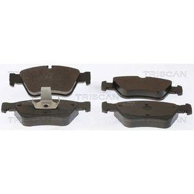 Bremsbelagsatz, Scheibenbremse Breite: 151,5mm, Höhe: 66,3mm, Dicke/Stärke: 19,5mm mit OEM-Nummer A 005 420 47 20