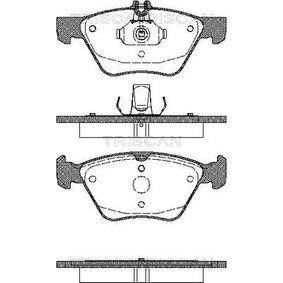 Bremsbelagsatz, Scheibenbremse Breite: 156,4mm, Höhe: 69,6mm, Dicke/Stärke: 20mm mit OEM-Nummer 004 420 03 20.