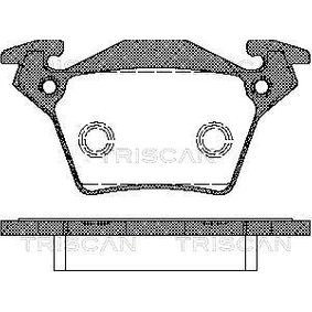 Bremsbelagsatz, Scheibenbremse Breite: 105mm, Höhe: 52,8mm, Dicke/Stärke: 17,8mm mit OEM-Nummer A000 421 4210