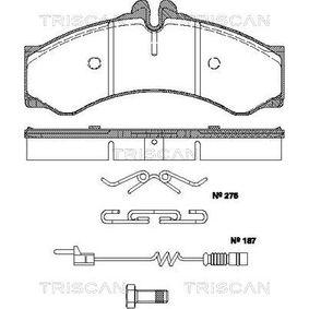Bremsbelagsatz, Scheibenbremse Breite: 164,8mm, Höhe: 73mm, Dicke/Stärke: 20mm mit OEM-Nummer 000 421 73 91