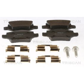 2012 Mercedes W169 A 180 CDI 2.0 (169.007, 169.307) Brake Pad Set, disc brake 8110 23045