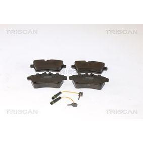 Bremsbelagsatz, Scheibenbremse Breite: 116,7mm, Höhe: 64mm, Dicke/Stärke: 18,8mm mit OEM-Nummer 169 420 10 20