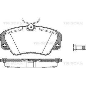 Bremsbelagsatz, Scheibenbremse Breite: 129,7mm, Höhe: 63,8mm, Dicke/Stärke: 19mm mit OEM-Nummer 1605 004
