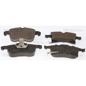 Bremsbelagsatz, Scheibenbremse Breite: 155,4mm, Höhe: 70,6mm, Dicke/Stärke: 20,3mm mit OEM-Nummer 16 05 996