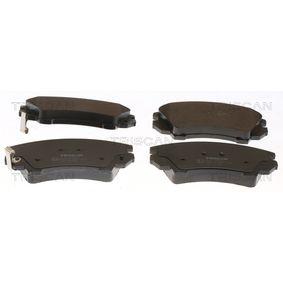 Bremsbelagsatz, Scheibenbremse Breite: 141,8mm, Höhe: 66,6mm, Dicke/Stärke: 19mm mit OEM-Nummer 95520061