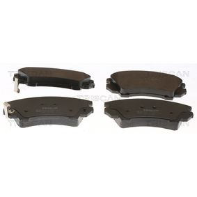 Brake Pad Set, disc brake Width: 141,8mm, Height: 66,6mm, Thickness: 19mm with OEM Number 1605 434