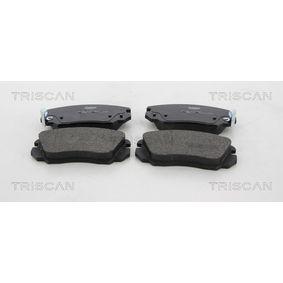 Bremsbelagsatz, Scheibenbremse Breite: 131,5mm, Höhe: 59,6mm, Dicke/Stärke: 19mm mit OEM-Nummer 1323 7750