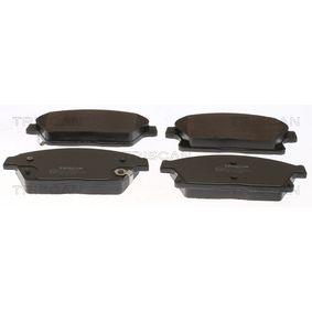 Bremsbelagsatz, Scheibenbremse Breite: 148mm, Höhe: 61,2mm, Dicke/Stärke: 19mm mit OEM-Nummer 1605135