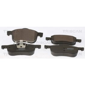 Brake Pad Set, disc brake Width: 156,4mm, Height: 69mm, Thickness: 18,5mm with OEM Number 3126250-6