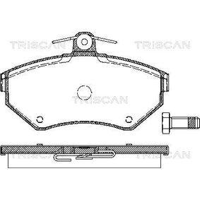 Bremsbelagsatz, Scheibenbremse Breite: 119mm, Höhe: 69,5mm, Dicke/Stärke: 16mm mit OEM-Nummer 1HM 698 151A