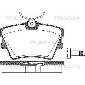 Bremsbelagsatz, Scheibenbremse Breite: 94,9mm, Höhe: 57,4mm, Dicke/Stärke: 17mm mit OEM-Nummer 701698451C