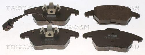 TRISCAN  8110 29051 Bremsbelagsatz, Scheibenbremse Höhe 1: 71,4mm, Höhe 2: 66,0mm, Dicke/Stärke: 20,3mm