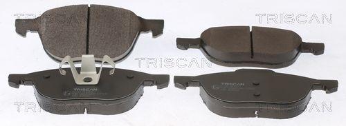 TRISCAN  8110 50023 Bremsbelagsatz, Scheibenbremse Breite: 155,2mm, Höhe: 62,5mm, Dicke/Stärke: 18mm