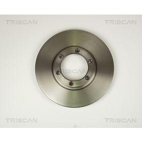 Bremsscheibe Bremsscheibendicke: 22mm, Lochanzahl: 6, Ø: 257mm mit OEM-Nummer 8943724350