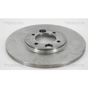 Bremsscheibe Bremsscheibendicke: 12,7mm, Lochanzahl: 4, Ø: 264mm mit OEM-Nummer C46 113