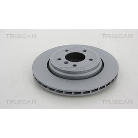 Bremsscheibe Bremsscheibendicke: 21,9mm, Lochanzahl: 5, Ø: 320mm mit OEM-Nummer 34.20.1.166.073