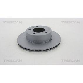 Bremsscheibe Bremsscheibendicke: 22mm, Lochanzahl: 5, Ø: 284mm mit OEM-Nummer 34.11.6.854.996