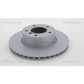 Bremsscheibe Bremsscheibendicke: 24mm, Lochanzahl: 5, Ø: 300mm mit OEM-Nummer 34 11 6 854 998