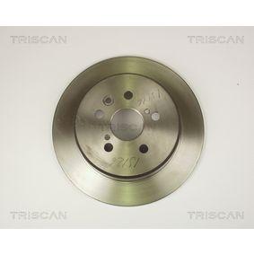 Disque de frein Epaisseur du disque de frein: 10mm, Nbre de trous: 5, Ø: 269mm avec OEM numéro 42431 20320