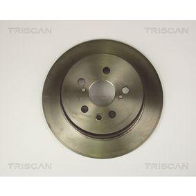 Disque de frein Épaisseur du disque de frein: 9,3mm, Nbre de trous: 5, Ø: 269mm avec OEM numéro 42431 20 200