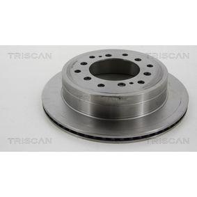 Disque de frein Épaisseur du disque de frein: 18mm, Nbre de trous: 6, Ø: 312mm avec OEM numéro 42431 60 270