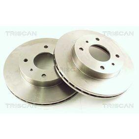Bremsscheibe Bremsscheibendicke: 22mm, Lochanzahl: 4, Ø: 256mm mit OEM-Nummer 402067-1E06