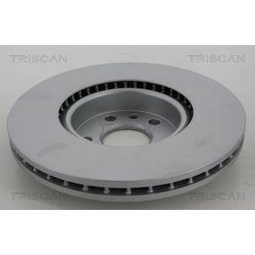 Bremsscheibe Bremsscheibendicke: 7mm, Lochanzahl: 4, Ø: 234mm mit OEM-Nummer 43206 58Y02