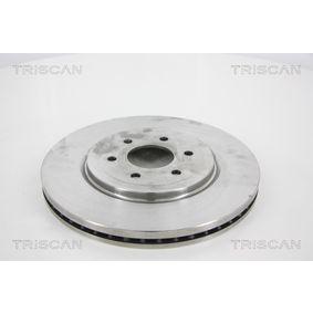 Bremsscheibe Bremsscheibendicke: 28mm, Lochanzahl: 6, Ø: 320mm mit OEM-Nummer 402065X01A