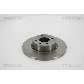 Bremsscheibe Bremsscheibendicke: 14mm, Lochanzahl: 4, Ø: 257mm mit OEM-Nummer 82 434 169
