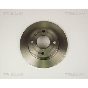 Bremsscheibe Bremsscheibendicke: 12,7mm, Lochanzahl: 4, Ø: 239,5mm mit OEM-Nummer 6 100 043