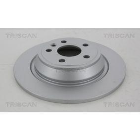 Bremsscheibe Bremsscheibendicke: 11mm, Lochanzahl: 5, Ø: 302mm mit OEM-Nummer LR-027123