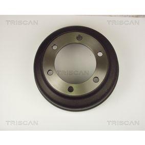 Brake Drum Drum Ø: 280mm with OEM Number 92VB1126BA