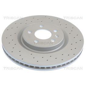 Bremsscheibe Bremsscheibendicke: 22mm, Lochanzahl: 5, Ø: 300mm mit OEM-Nummer 210.423.0812