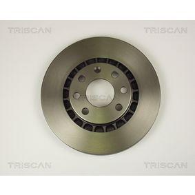 Bremsscheibe Bremsscheibendicke: 24mm, Lochanzahl: 4, Ø: 256mm mit OEM-Nummer 961 622 49