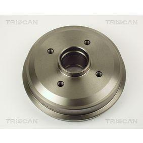 Bremsscheiben für OPEL CORSA C (F08, F68) 1.2 75 PS ab Baujahr 09.2000 TRISCAN Bremsscheibe (8120 24148) für