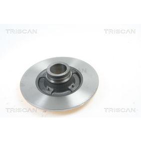 Bremsscheibe Bremsscheibendicke: 8mm, Lochanzahl: 4, Ø: 238mm mit OEM-Nummer 7701 204 302
