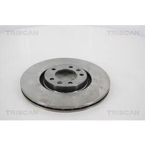 Bremsscheibe Bremsscheibendicke: 22mm, Lochanzahl: 5, Ø: 302mm mit OEM-Nummer 9687990780