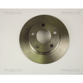 Bremsscheiben VW PASSAT Variant (3B6) 1.9 TDI 130 PS ab 11.2000 TRISCAN Bremsscheibe (8120 29109) für