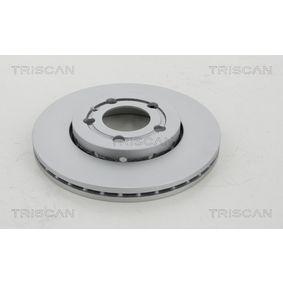 Bremsscheibe Bremsscheibendicke: 22mm, Ø: 256mm mit OEM-Nummer 1J0.615.301D