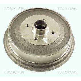 Bremstrommel Trommel-Ø: 230mm mit OEM-Nummer 147 501 615 A
