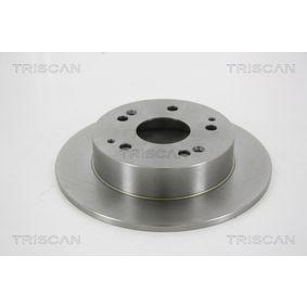 Bremsscheibe Bremsscheibendicke: 9mm, Lochanzahl: 5, Ø: 260mm mit OEM-Nummer 42510-S87-A00