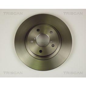 Bremsscheibe Bremsscheibendicke: 24mm, Lochanzahl: 5, Ø: 260mm mit OEM-Nummer 26300 AE090