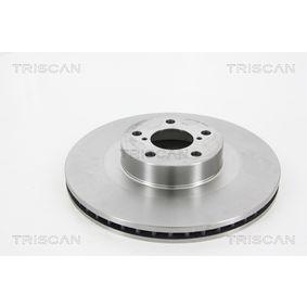 Bremsscheibe Bremsscheibendicke: 24mm, Lochanzahl: 5, Ø: 293mm mit OEM-Nummer 26300 FE040