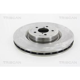 Bremsscheibe Bremsscheibendicke: 30mm, Lochanzahl: 5, Ø: 326mm mit OEM-Nummer 26300 FE000