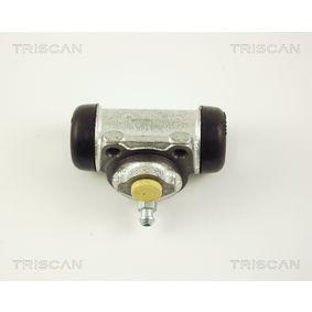Radbremszylinder Ø: 17,5mm, Bohrung-Ø: 17,46mm mit OEM-Nummer 7701 040 850