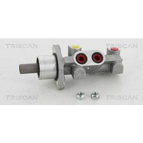 Renault Twingo 2 1.2 Turbo (CN0C, CN0F) Hauptbremszylinder TRISCAN 8130 25144 (1.2 Turbo Benzin 2016 D4F 782)
