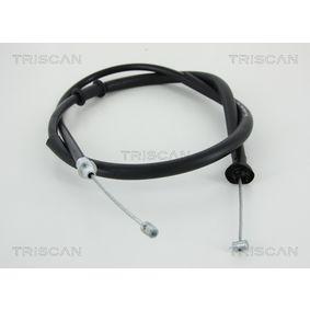 Cable, parking brake 8140 15180 PUNTO (188) 1.2 16V 80 MY 2006
